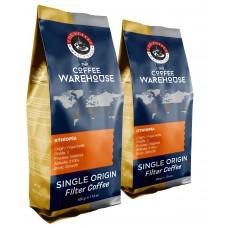 Avantaj Paket 2 x 500gr Etiyopya Filtre Kahve (Haftalık Kavrum)