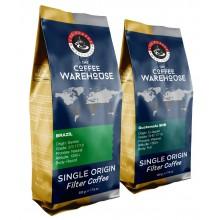 Avantaj Paket (1 KG) Brezilya 500 g + Guatemala 500 g Filtre Kahve (Haftalık Kavrum)