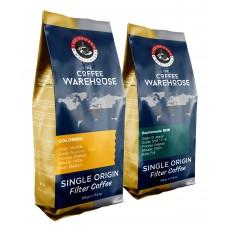 Avantaj Paket (1 KG) Guatemala 500 g + Colombia 500 g Filtre Kahve (Haftalık Kavrum)