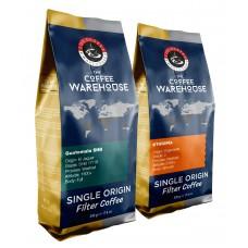 Avantaj Paket (1 KG) Etiyopya 500 g + Guatemala 500 g Filtre Kahve (Haftalık Kavrum)