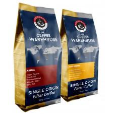 Avantaj Paket (1 KG) Kenya 500g + Colombia 500g Filtre Kahve (Haftalık Kavrum)