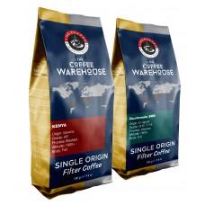 Avantaj Paket (1 KG) Kenya 500 g + Guatemala 500 g Filtre Kahve (Haftalık Kavrum)