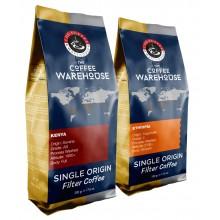 Avantaj Paket Afrika (1 KG) Kenya 500g + Etiyopya 500g  Filtre Kahve (Haftalık Kavrum)