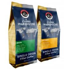 Avantaj Paket (1 KG) Brezilya 500 g + Colombia 500 g Filtre Kahve (Haftalık Kavrum)